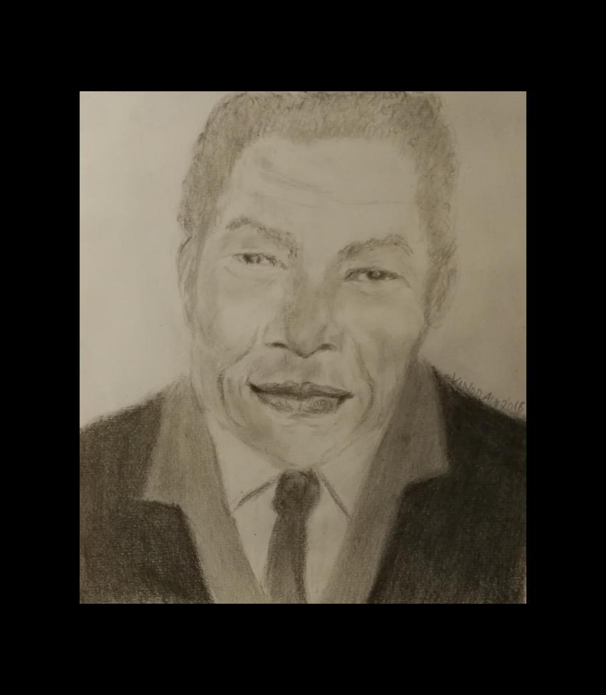 Nelson Mandela by vinodnair